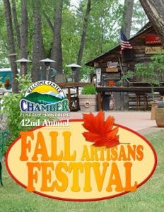 Pinetop-Lakeside Chamber of Commerce 42nd Annual Fall Festival flier (image)