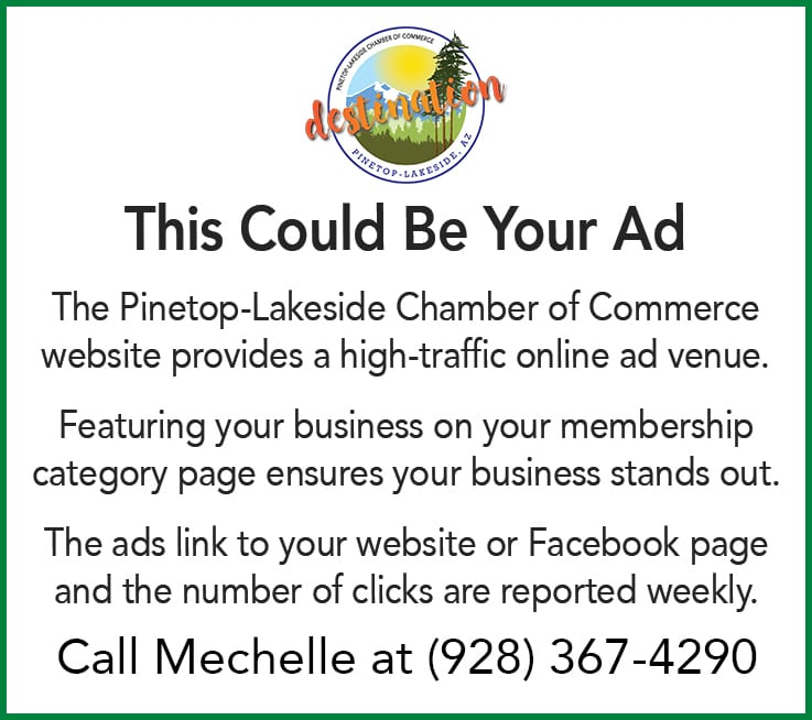 Pinetop-Lakeside Chamber of Commerce default ad