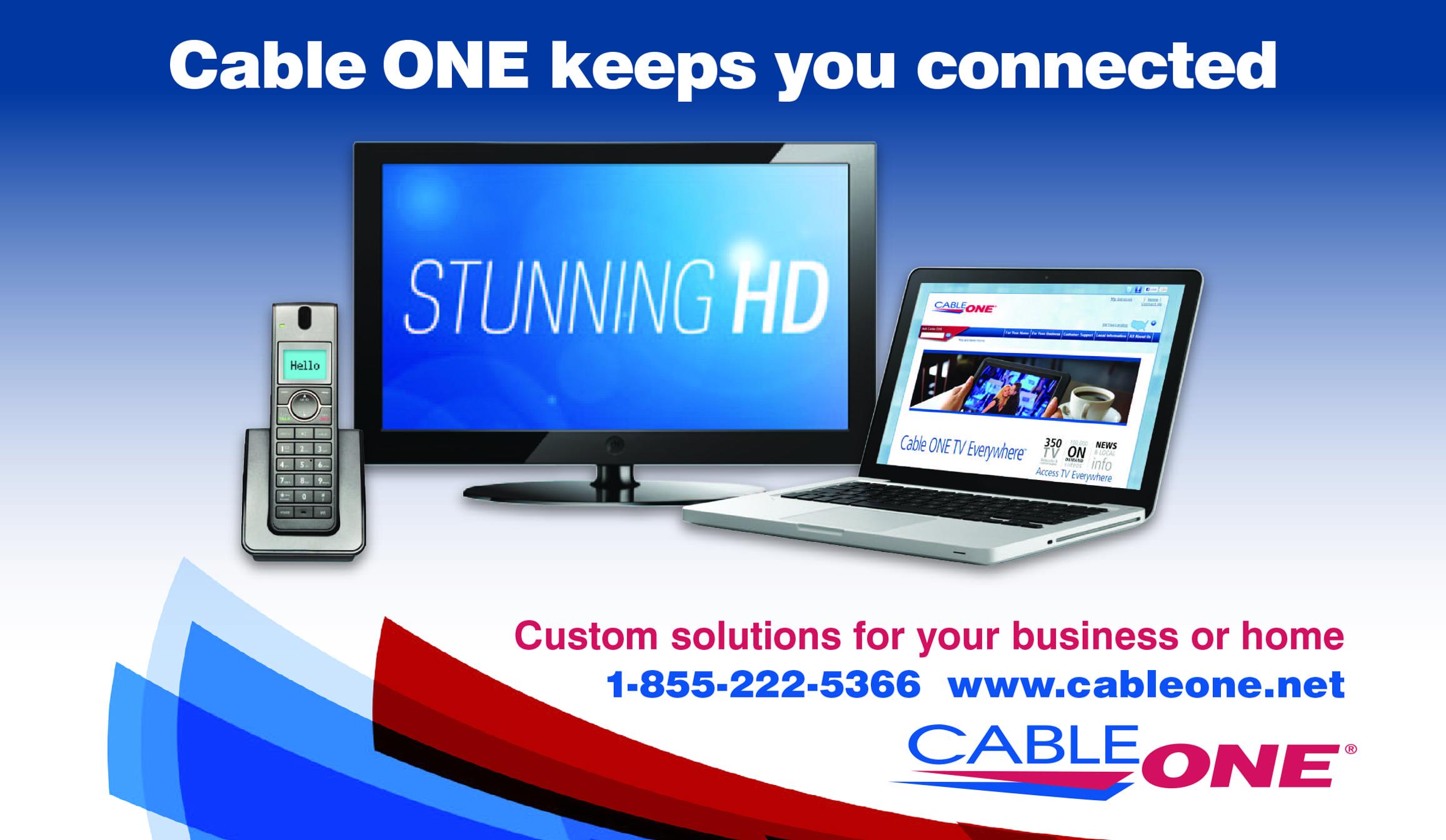CableOne ad (image)