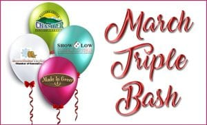 March Chambers of Commerce Triple Bash banner (image)