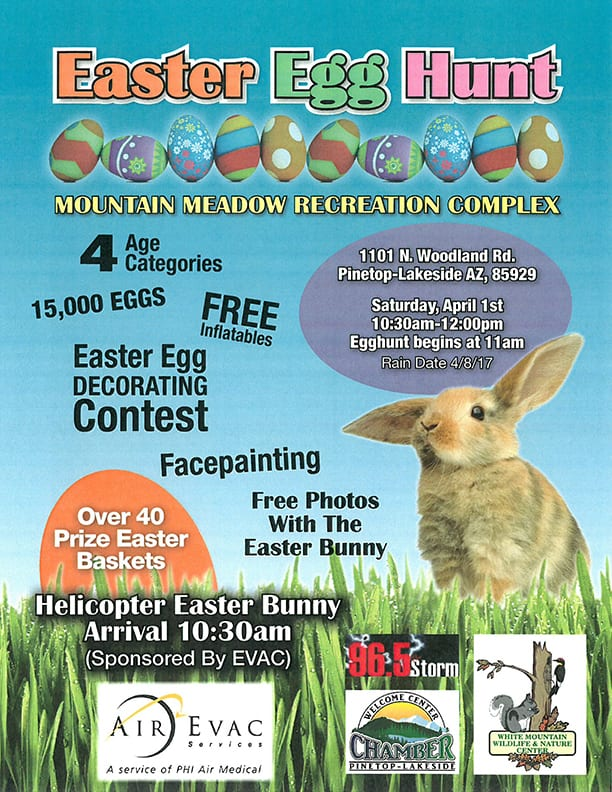 Town of Pinetop-Lakeside Easter Egg Hunt