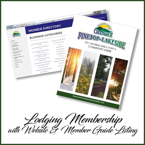 Pinetop-Lakeside Chamber of Commerce lodging membership (image)