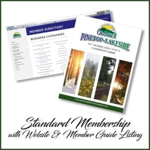 Pinetop-Lakeside Chamber of Commerce standard membership (image)
