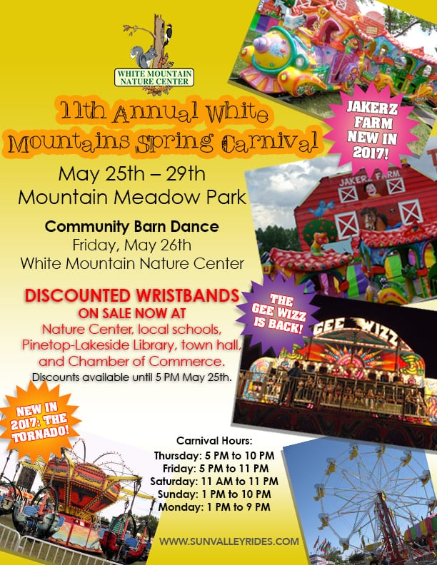 11th Annual White Mountains Spring Carnival