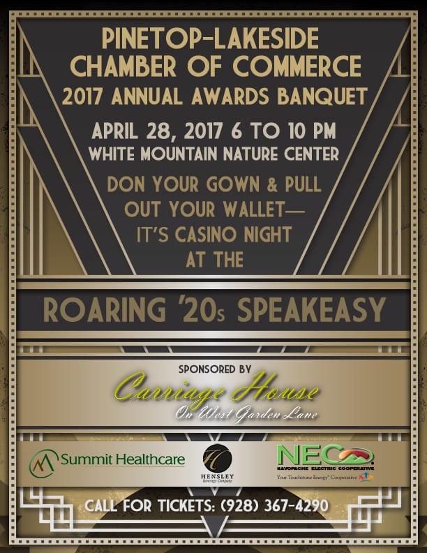 Pinetop-Lakeside Chamber of Commerce Annual Awards Banquet
