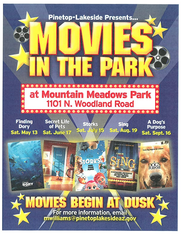 Pinetop-Lakeside: Movies in the Park