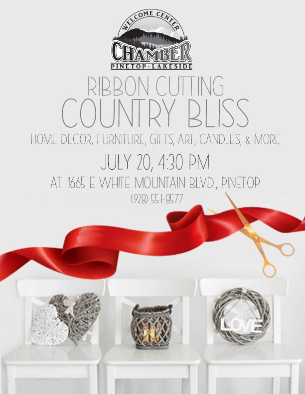 Country Bliss Boutique Ribbon Cutting