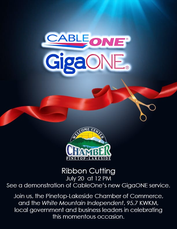 Ribbon Cutting for CableONE