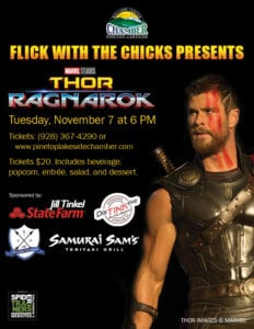Flick with the Chicks: Thor flier (image)