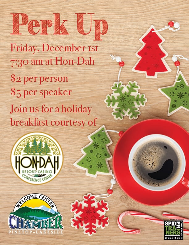 December Perk Up Breakfast