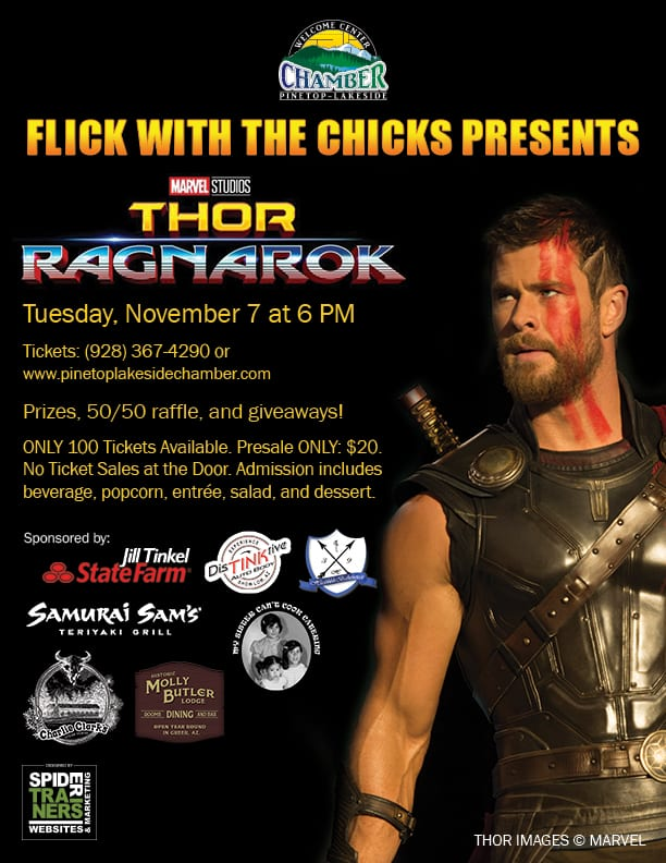 Flick with the Chicks: Thor