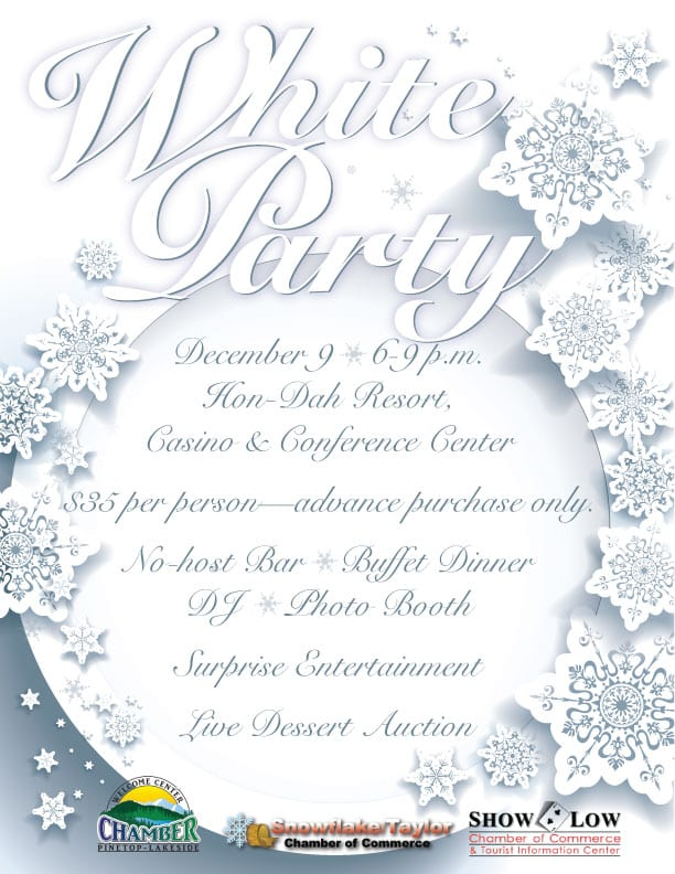 Christmas White Party