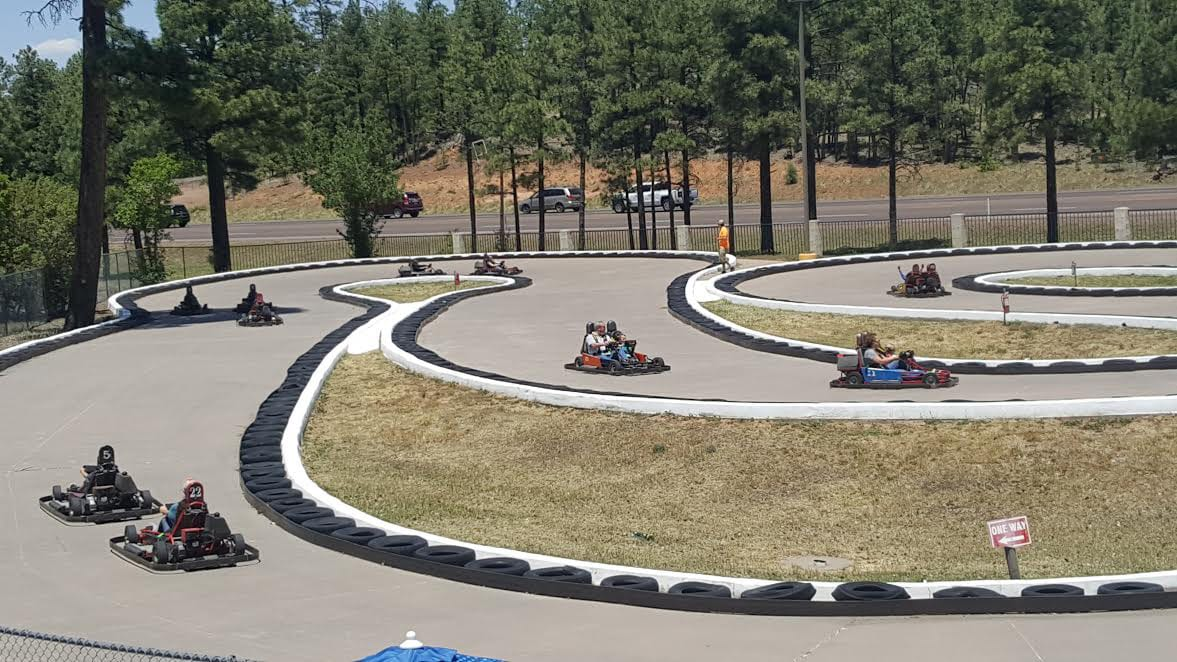 White Mountain Family Fun Park go kart track (image)
