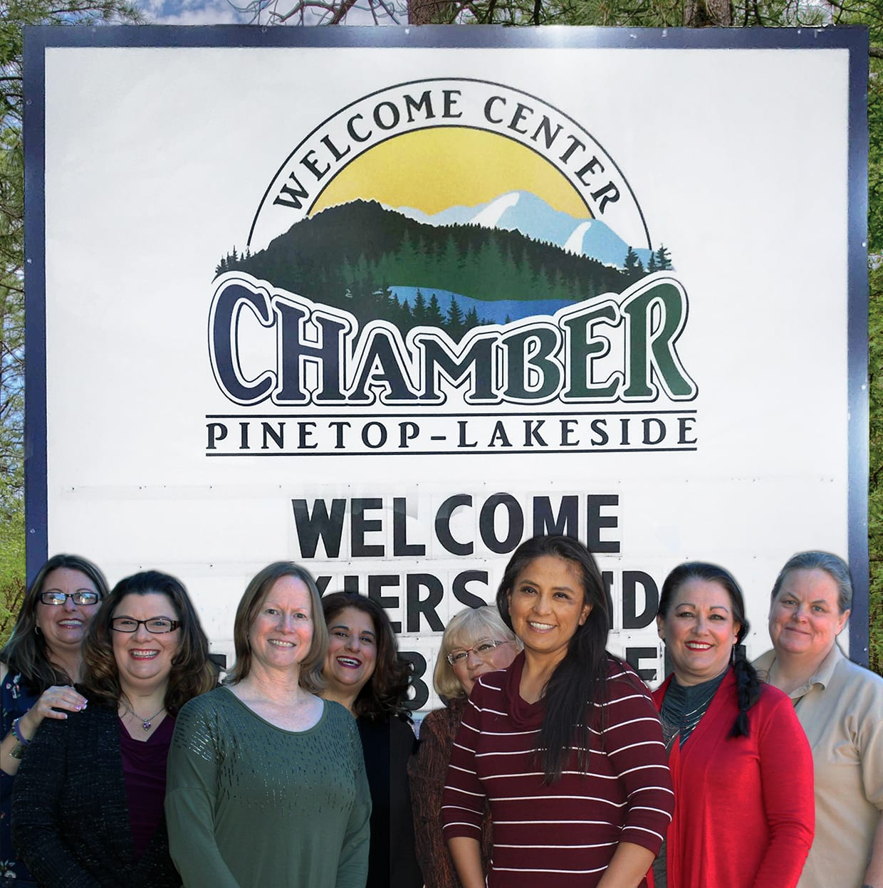 Pinetop-Lakeside Chamber of Commerce Board of Directors 2018 (image)