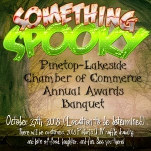 Pinetop-Lakeside Chamber of Commerce 2018 Annual Awards Banquet Halloween Party and UTV Raffle Drawing (image)