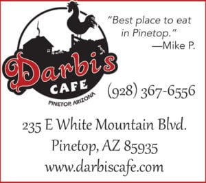 Darbi's Cafe ad (image)