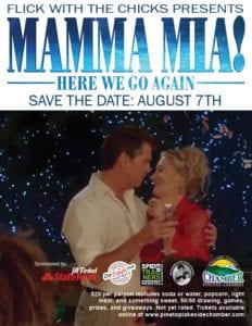 Mamma Mia! Here We Go Again flier (image)