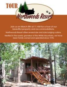 Northwoods Resort Business Tour flier (image)