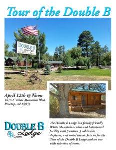 Double B Lodge Business Tour flier (image)