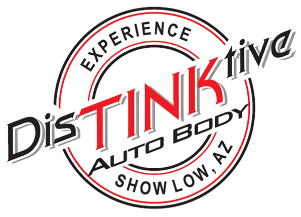 DinTINKtive Auto Body logo (image)