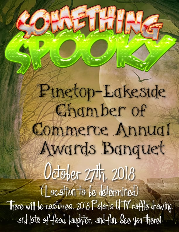 Pinetop-Lakeside Chamber of Commerce Annual Awards Banquet flier (image)