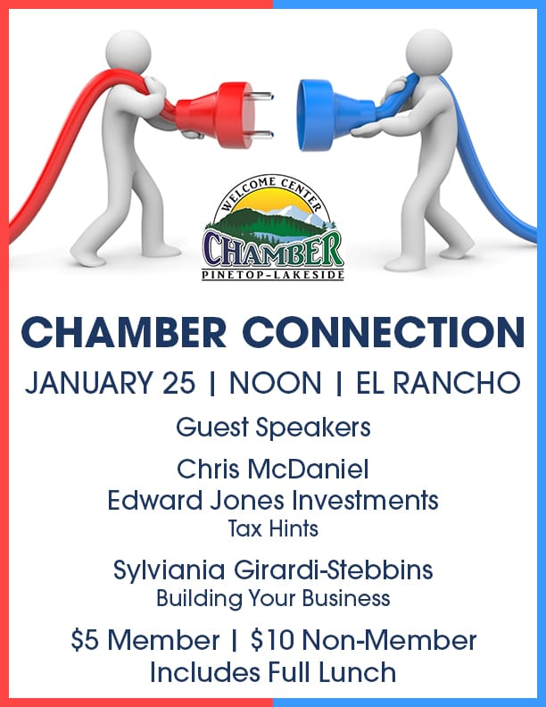 Chamber Connection at El Rancho Restaurant flier (image)