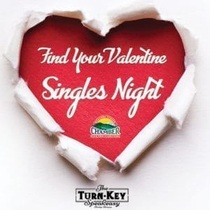Find Your Valentine Singles Night (image)