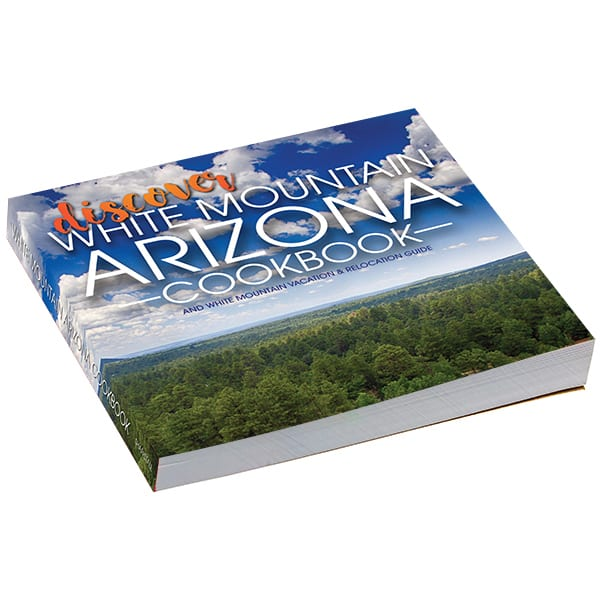 Discover White Mountain Arizona Cookbook (image)