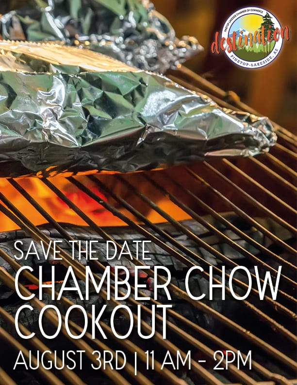 Chamber Chow Cookout flier (image)