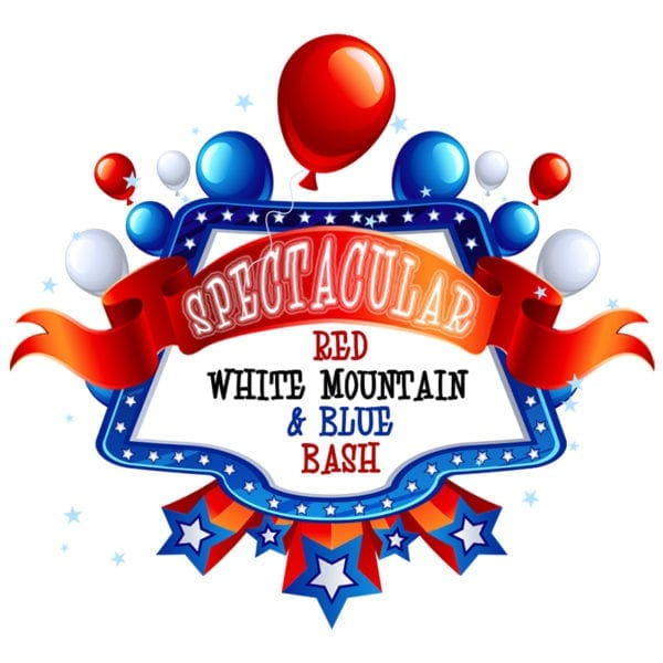 Spectacular Red, White Mountain, & Blue Bash wristbands (image)