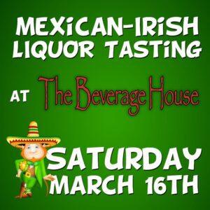 Mexican-Irish Liquor Tasting product (image)