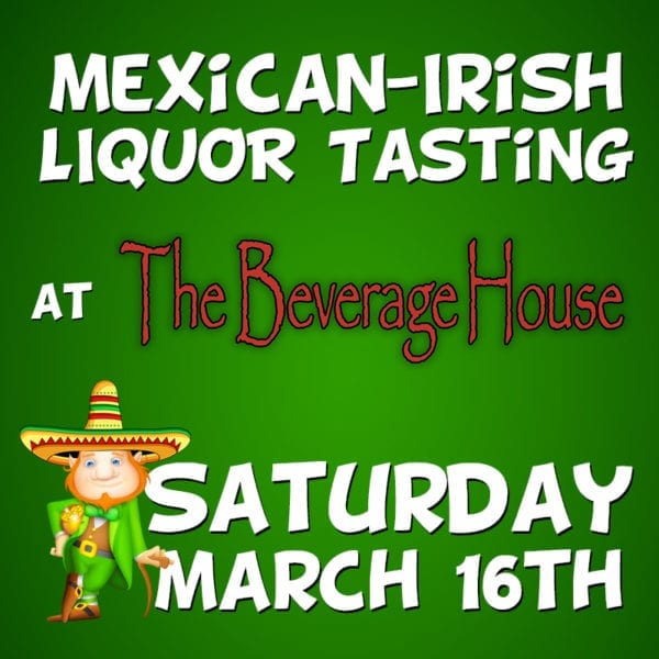Mexican-Irish Liquor Tasting product (image)