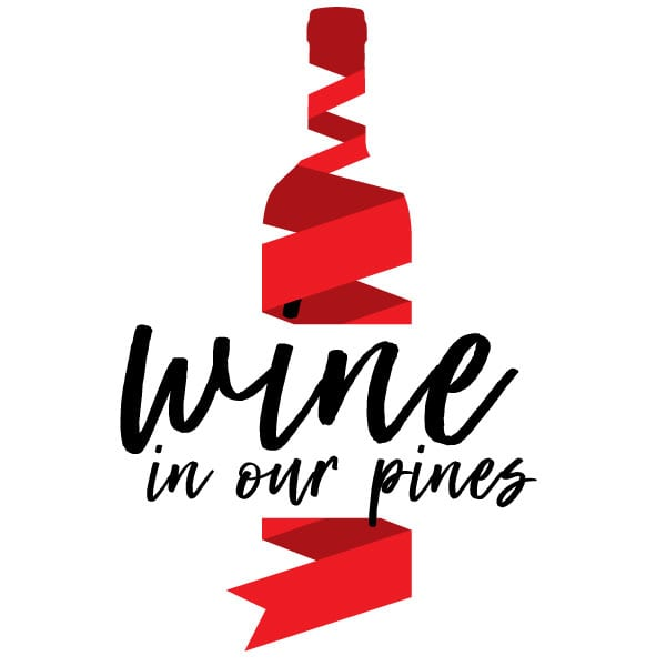 Wine in Our Pines logo