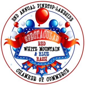 Spectacular Red, White Mountain, & Blue Bash logo